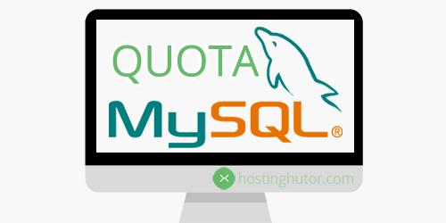 MySQL квоты - реализация квот на базы данных MySQL