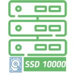 Віртуальний хостинг - тариф SSD 10000 га