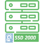 Shared hosting - tariff SSD 2000 ha