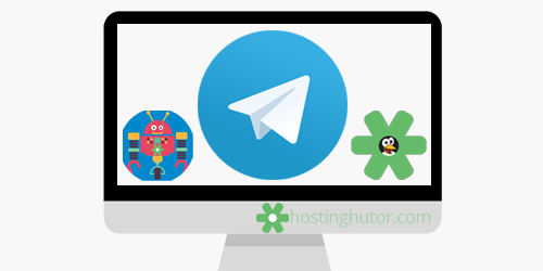 HostingHutor.com is now in Telegram: chat with support, bot, channel